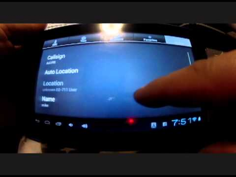 Echolink on D2 Android Tablet