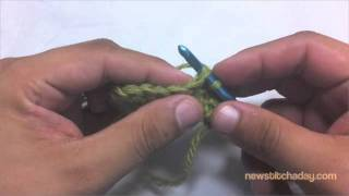 How to Crochet: Single Crochet 2 Together Decrease (sc2tog)