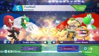 Mario & Sonic a Rio 2016 : Le Choc des Héros 1/2 [Wii U]