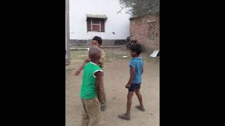Boys dancing in Indian village| Funny