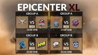 Virtus Pro VS OG (BO3) - Epicenter XL Group Stage Main Event Day 5