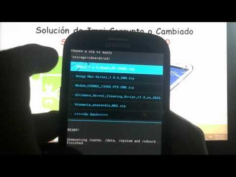 Repara La Imei Corrupta (Sin Señal) En El Galaxy S3 GT-I9300 (En Español)