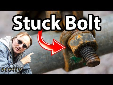 How To Remove Stuck Nuts And Bolts
