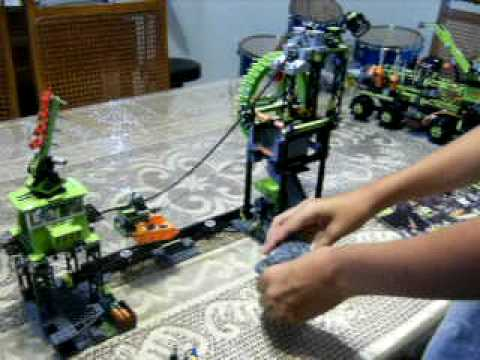 Lego power miners Under Ground Mining Station review