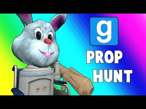 Gmod Prop Hunt Funny Moments - Wheelchair Cartel (Garry's Mod)