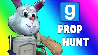 Gmod Prop Hunt Funny Moments - Wheelchair Cartel (Garry