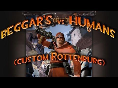 TF2 – MvM: Beggar's vs Humans (custom Rottenburg)