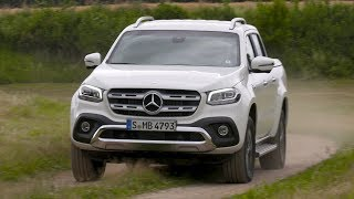 Mercedes-Benz X350d 4MATIC | Line POWER | Bering White Metallic | Driving Event Slovenia 2018