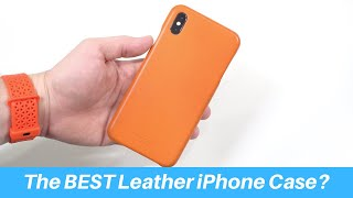 Is This the BEST Leather iPhone Case?