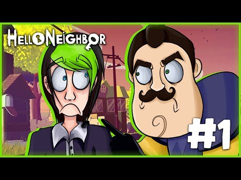 THIS BASEMENT GOT WEIRD! | HELLO NEIGHBOR ACT 1 | DAGames