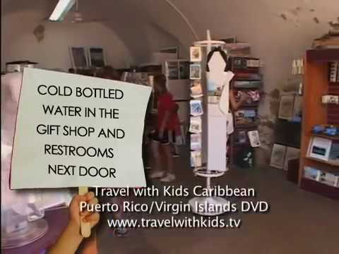 Puerto Rico with Kids - Travel with Kids Caribbean San Juan - El Morro - Puerto Rico Family Vacation