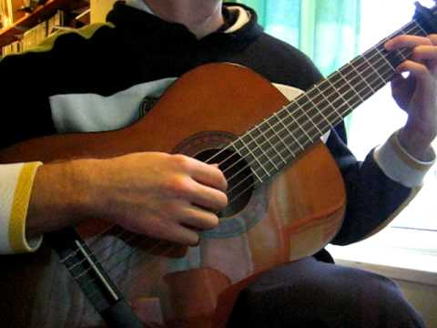 Brahms Lullaby Classical Guitar