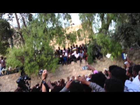Ethiopian Easter Celebration May 2013 in Jerusalem, Israel