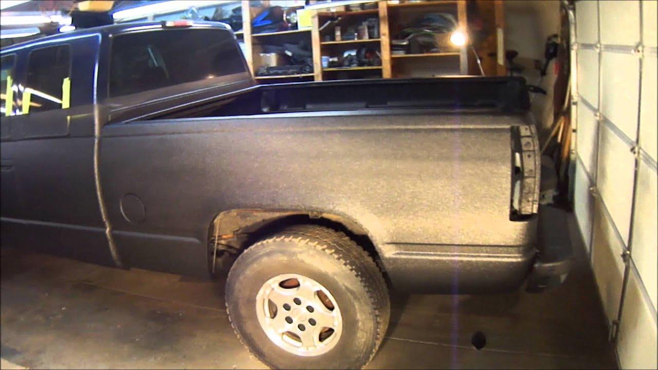 raptor lined diesel truck youtube