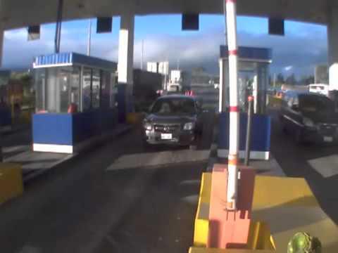 Отказ тормозов на пункте дорожных сборов