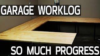 So Much Progress + New Tables! Garage Worklog 6