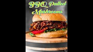 Baked VeganVegan BBQ Pulled Mushrooms - Vegan Cheesecake with a Salted Caramel - Vegan Steak