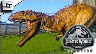 Jurassic World Evolution! Giganotosaurus! E19