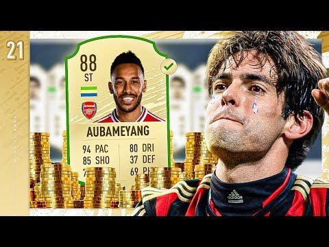 FINALLY SELLING AUBAMEYANG!! - FIFA 20 KAKA ROAD TO GLORY #21