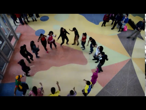 ICC World T20 Bangladesh 2014 Flash Mob UAlberta, Edmonton