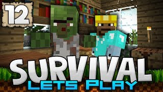 I FOUND AN ABANDONED VILLAGE!!! - Survival Let