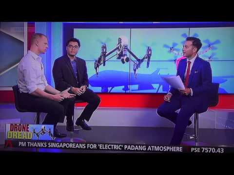 Channel News Asia & ArmstrongSkyView.com On Drone regulations