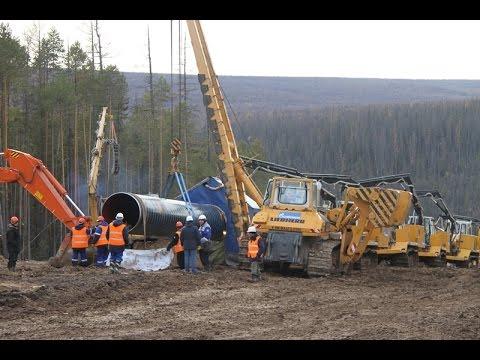 В Якутии уже построено 60 км газопровода Сила Сибири