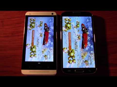Samsung Galaxy S4 v HTC One (GPS. Speaker. Browser tests)