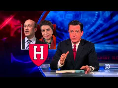The Colbert Report | April 23rd 2013 | Reinhart and Rogoff