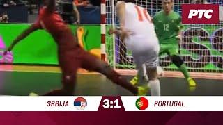 FUTSAL: Srbija – Portugalija 3:1