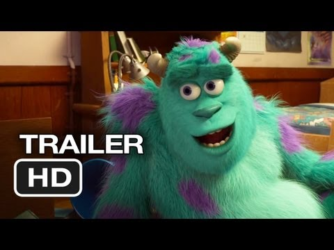 Monsters University Official Trailer #2 (2013) Monsters Inc Prequel Pixar Movie HD