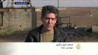 إنتاج حقول نفط رميلان الخاضعة لوحدات الحماية الكردية
