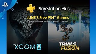 PlayStation Plus - Free Games Lineup June 2018 | PS4