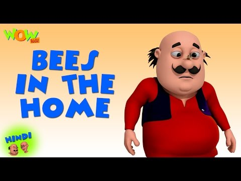 Bees In The Home - Motu Patlu in Hindi WITH ENGLISH, SPANISH & FRENCH SUBTITLES thumbnail