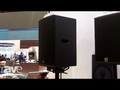 InfoComm 2016: Martin Audio Introduces CDD-LIVE Speaker Systems