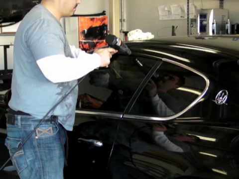 Window Trim Black Vinyl Overlay Installation Youtube