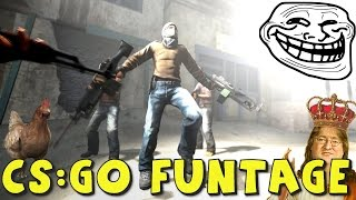 CS:GO FUNTAGE! - CS:GO Funny Moments In Competitive