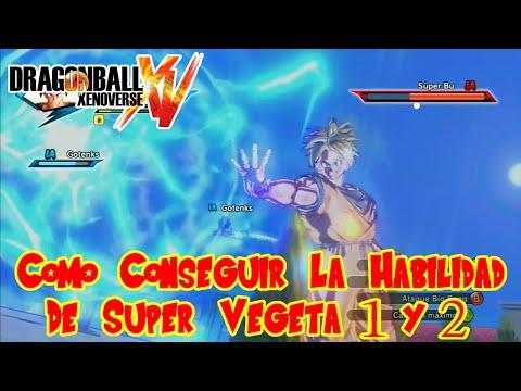 Dragon Ball Xenoverse : Como Conseguir La Habilidad De Super Vegeta 1 y 2