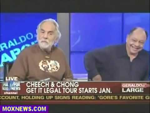 Cheech & Chong Debate On Fox News About Marijuana video