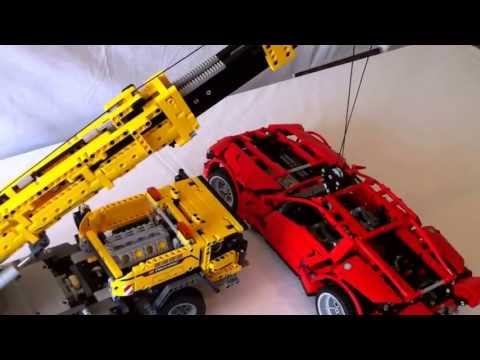 LEGO Technic 42009 Mobile Crane MKII - lifting 8070