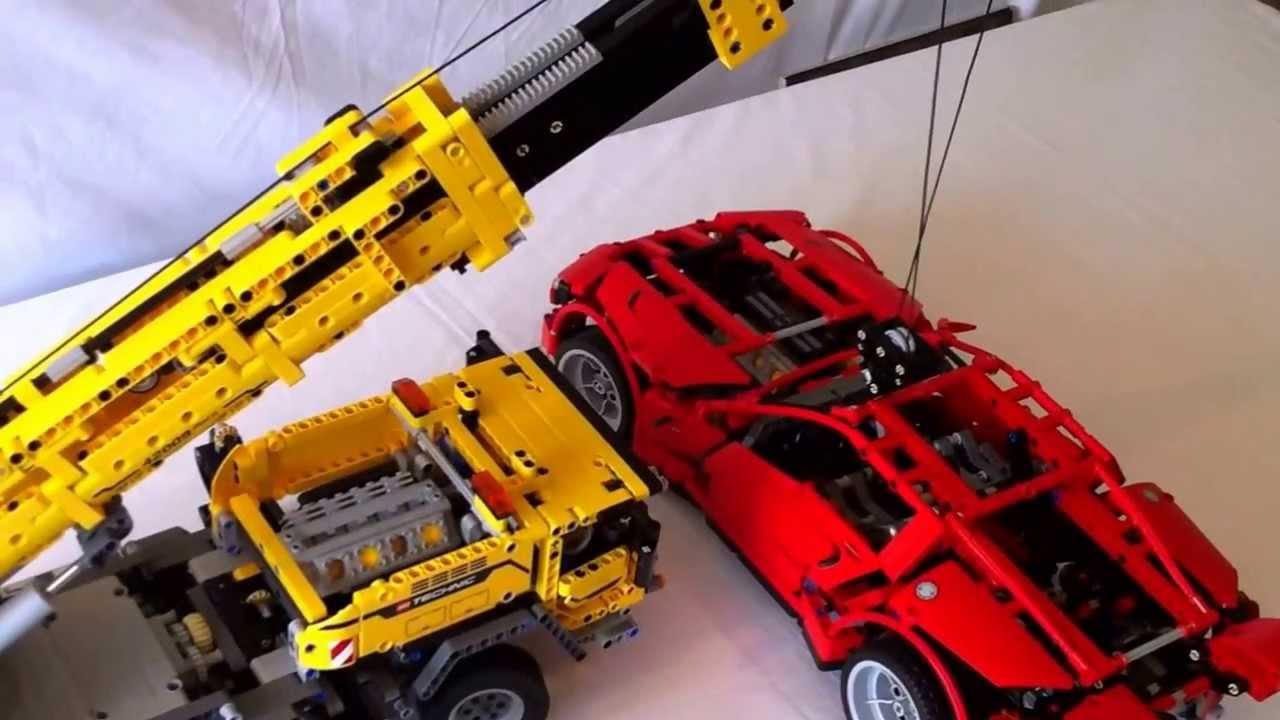 lego technic 42009 mobile crane mkii lifting 8070 youtube. Black Bedroom Furniture Sets. Home Design Ideas