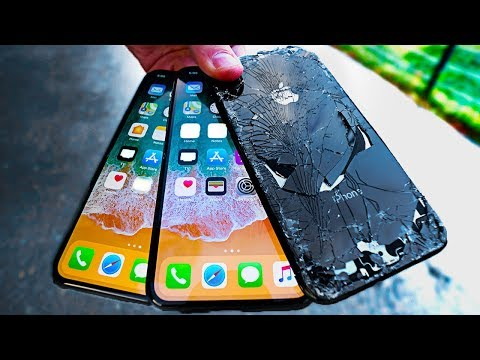 iPhone X Ultimate Durability Drop Test! vs Note 8/V30