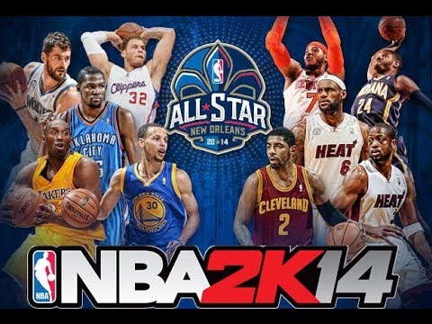NBA 2k14 All Star Game East vs West