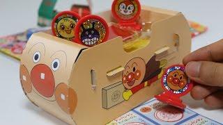 Anpanman Stamp Set ~ アンパンマン スタンプあそび めばえ10月号