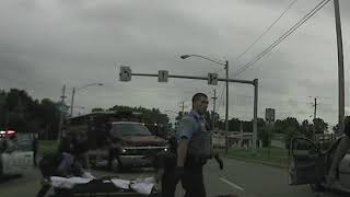 Parma police dash cam video of officer-involved shooting