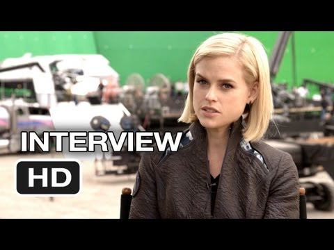 Star Trek Into Darkness Interview - Alice Eve (2013) - Chris Pine Movie HD