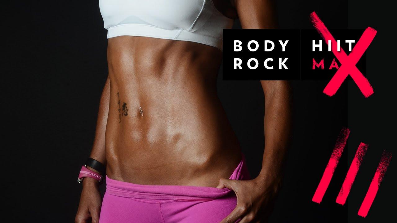 BodyRock HiitMax| Workout 14 - Cardio Burn Fat Fast ...