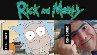 Rick Sanchez Makeup and Cosplay Tutorial