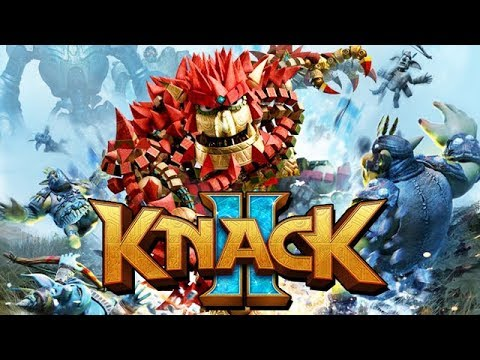 Knack 2 Gameplay German PS4 PRO - Knack is Back BABY !