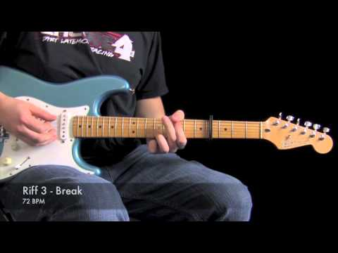 One Thing Remains : Electric Guitar Lesson (Jesus Culture)